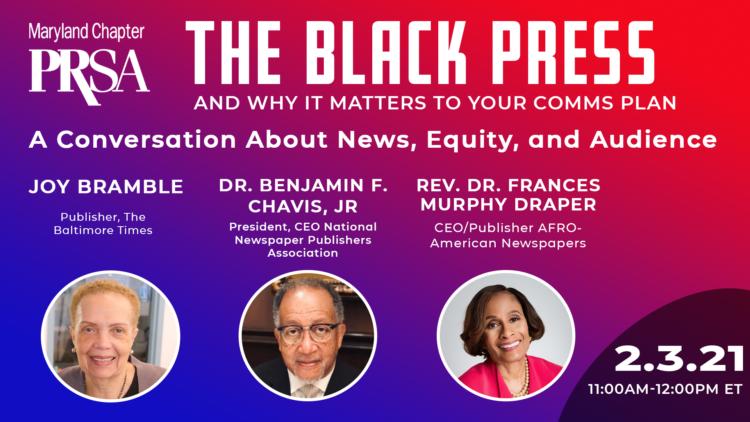 Capitol Communicator PRSA Maryland chapter The Black Press February 2021