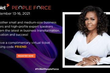Capitol Communicator TriNet People Force September 2021 FRIEND virtual ticket code